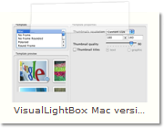 Javascript Image Viewer  Mac version - Thumnails Tab