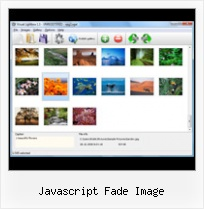 Javascript Fade Image launch pop up java
