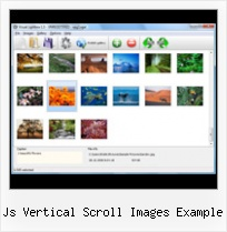 Js Vertical Scroll Images Example floating popup window in java script